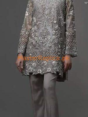 DEEPAK PARWANI Luxury Embroidered Net Collection Replica