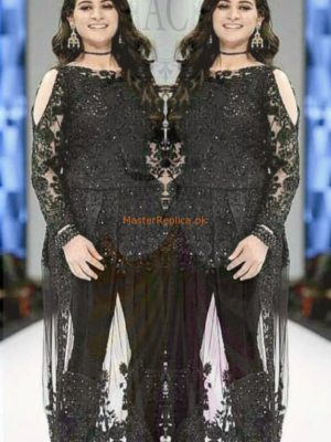 DESIGNER Luxury Embroidered Eid Net Collection Replica