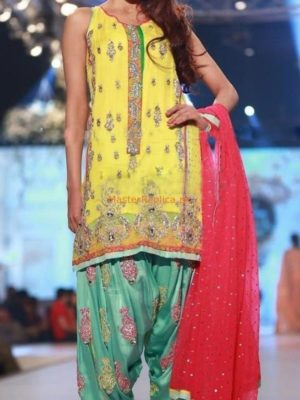 TABASSUM MUGHAL Luxury Embroidered Chiffon Collection Replica