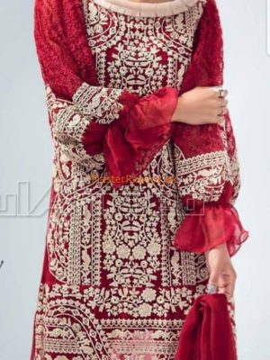 GUL AHMED Luxury Embroidered Chiffon Collection Replica