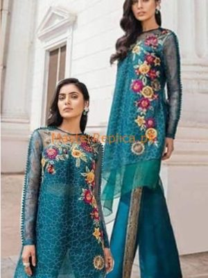 REPUBLIC Luxury Embroidered Organza&Net Collection Replica