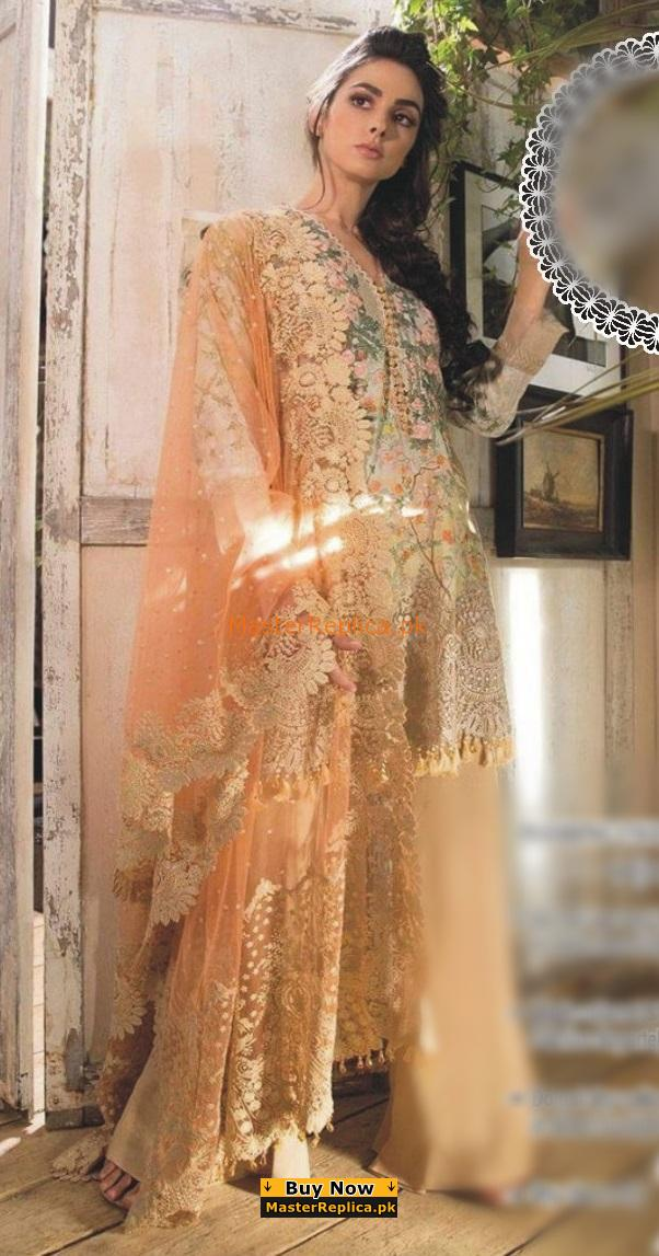 SOBIA NAZIR Luxury 2-B Embroidered Summer Lawn Collection Replica