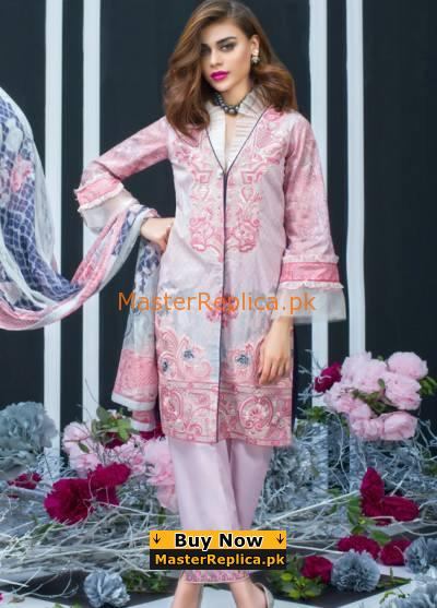 ZAINAB CHOTTANI Luxury Embroidered Eid Lawn Collection Replica
