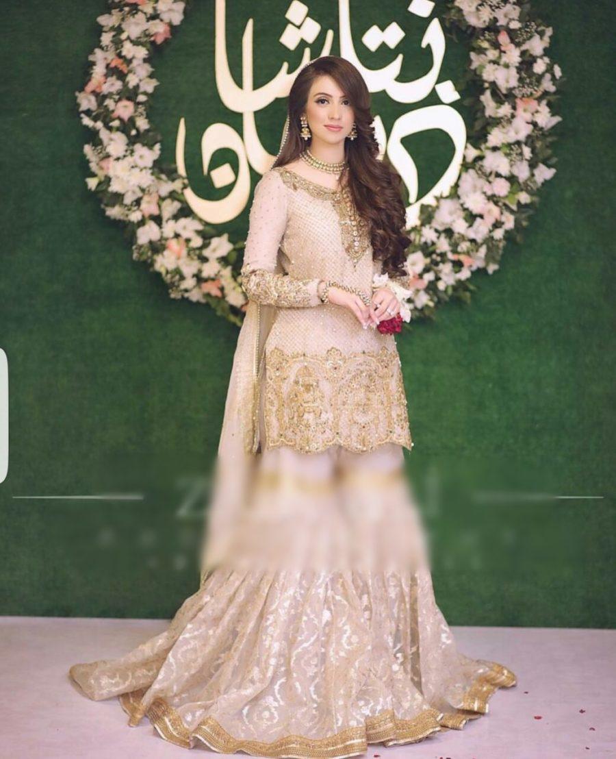 ZAINAB CHOTTANI Luxury Embroidered Wedding Chiffon Collection Replica