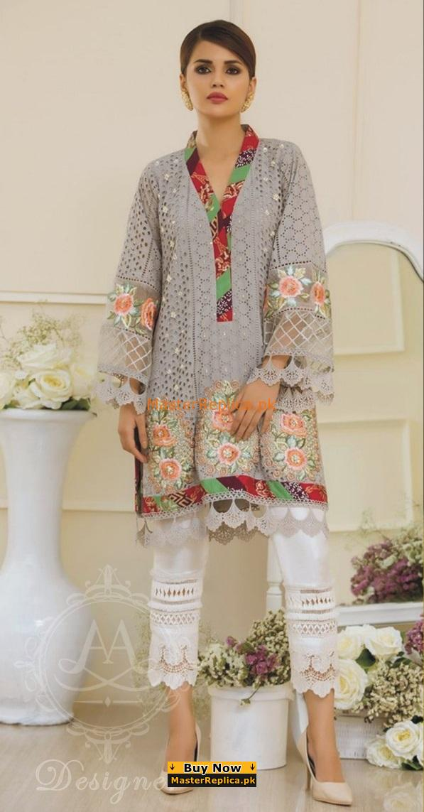 ZARA SHAH JAHAN Luxury Embroidered Eid Lawn Collection Replica