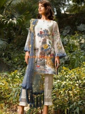 CHARIZMA Luxury Embroidered Chiffon Collection Replica 2018