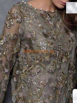 DESIGNER Luxury Embroidered Chiffon Collection Replica