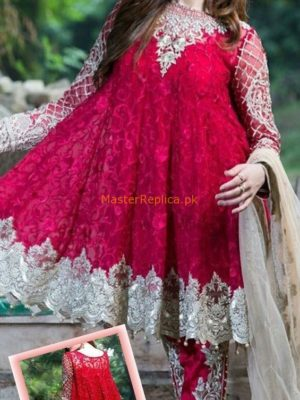 IMROZIA Luxury Embroidered Latest Eid Chiffon Collection Replica