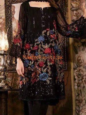 IZNIK Luxury Embroidered Chiffon Collection Replica