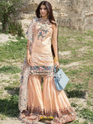 NOOR BY SADIA ASAD Luxury Embroidered Summer Lawn Collection Replica