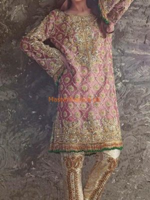 ANAS ABRAR LUXURY EMBROIDERED MAYSURI COLLECTION 2018 REPLICA