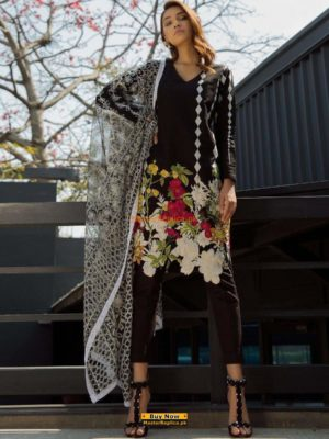 SANA SAFINAZ Luxury Embroidered Eid Lawn Collection Replica