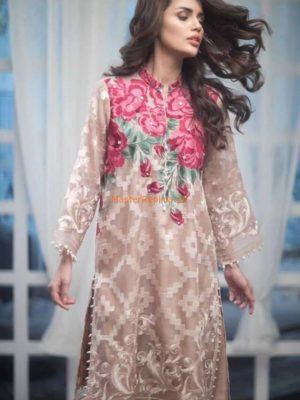 AGHA NOOR Luxuru Festive Embroidered Net Collection Replica