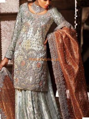 ANNUS ABRAR Luxury Embroidered Maysuri Collection Replica 2018