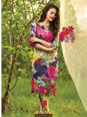 ASIFA & NABEEL Luxury Embroidered Lawn Collection Replica
