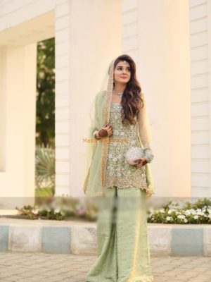 ATIF NIAZ Luxury Embroidered Bridal Wear Collection Replica