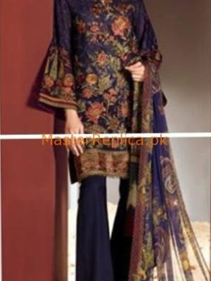 BAROQUE Latest Embroidered Lawn Collection Replica 2018
