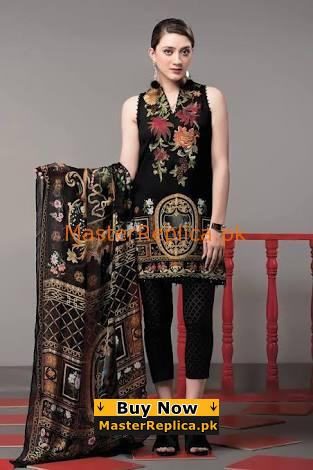 ETHNIC Latest Luxury Embroidered Linen Collection Replica