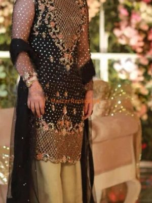 IVORY Latest Embroidered Festive Chiffon Collection Replica