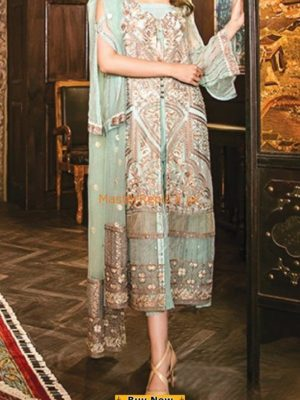 IZNIK Luxury Embroidered Latest Chiffon Collection Replica