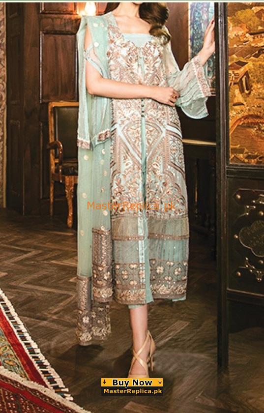 IZNIK Luxury Embroidered Latest Chiffon Collection Replica