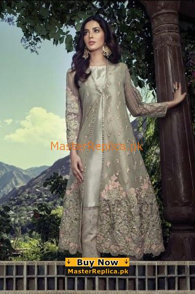 Maria B Luxury Embroidered Organza Party Wear Collection