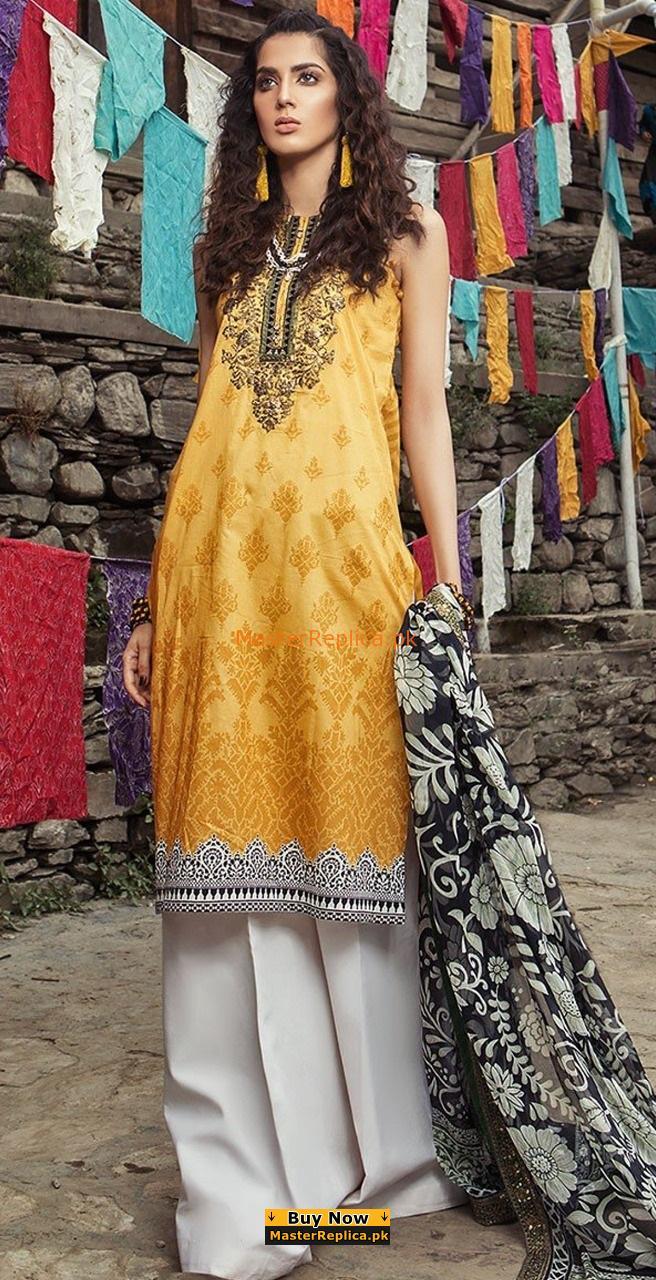 Maria B Latest Embroidered Cotton Collection Replica