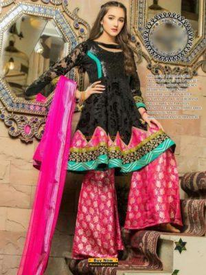 NOMI ANSARI Luxury Embroidered Eid Lawn Collection Replica
