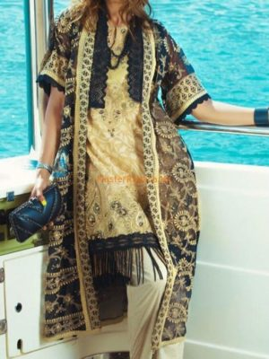 RANG RASIYA Luxury 1018 B Embroidered Lawn Collection Replica