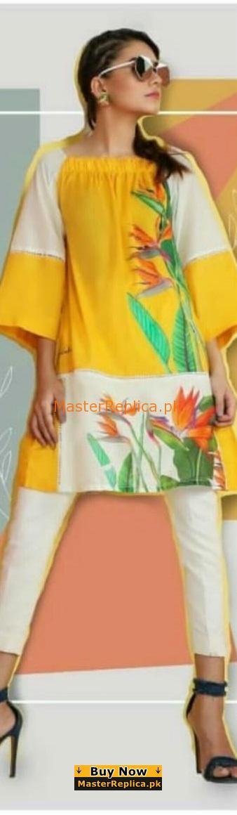 SANA SAFINAZ Luxury Printed Silk Collection Kurtis 2018
