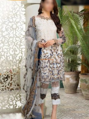 Sifona Luxury Embroidered Net Collection Replica 2018