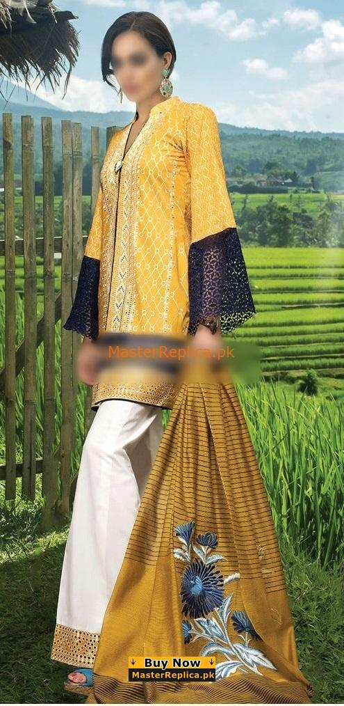 ZAINAB CHOTTANI Latest Embroidered Lawn Collection Replica