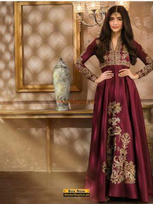 ZAINAB CHOTTANI Luxury Embroidered Bridal Chiffon Collection Replica