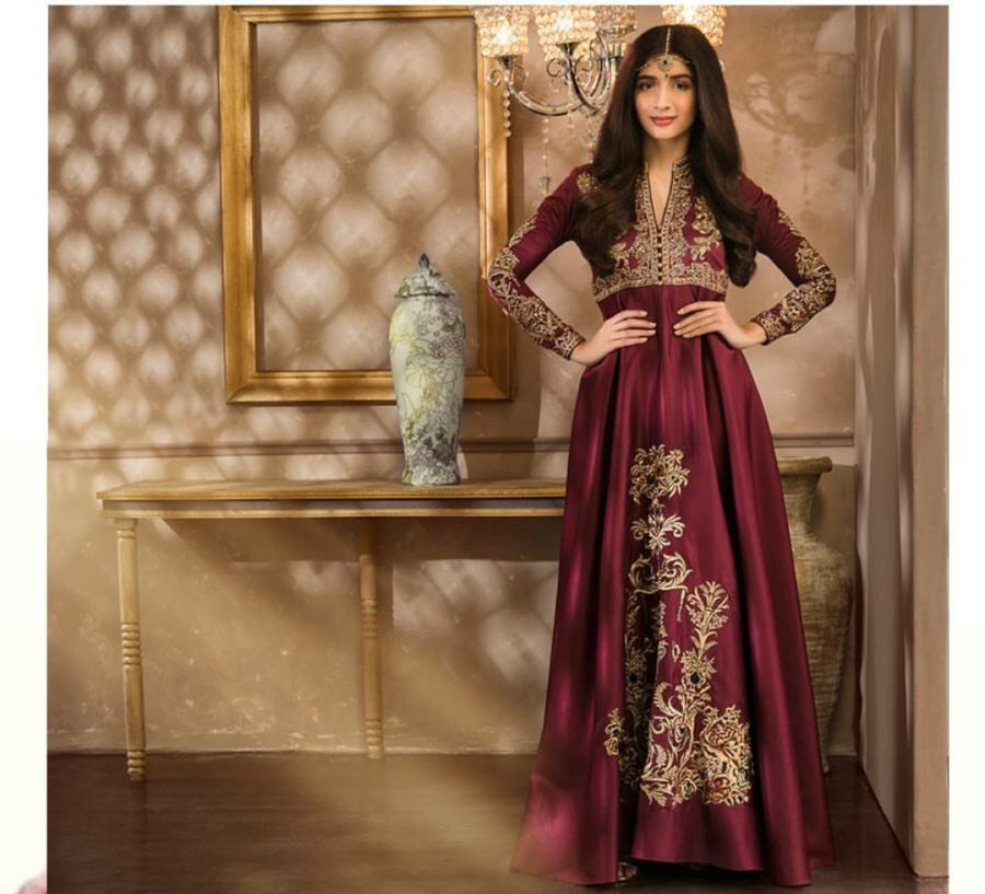 ZAINAB CHOTTANI Luxury Embroidered Bridal Chiffon Collection Replica