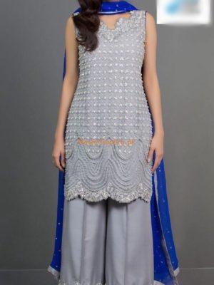 ZAINAB CHOTTANI Luxury Embroidered Chiffon Collection Replica