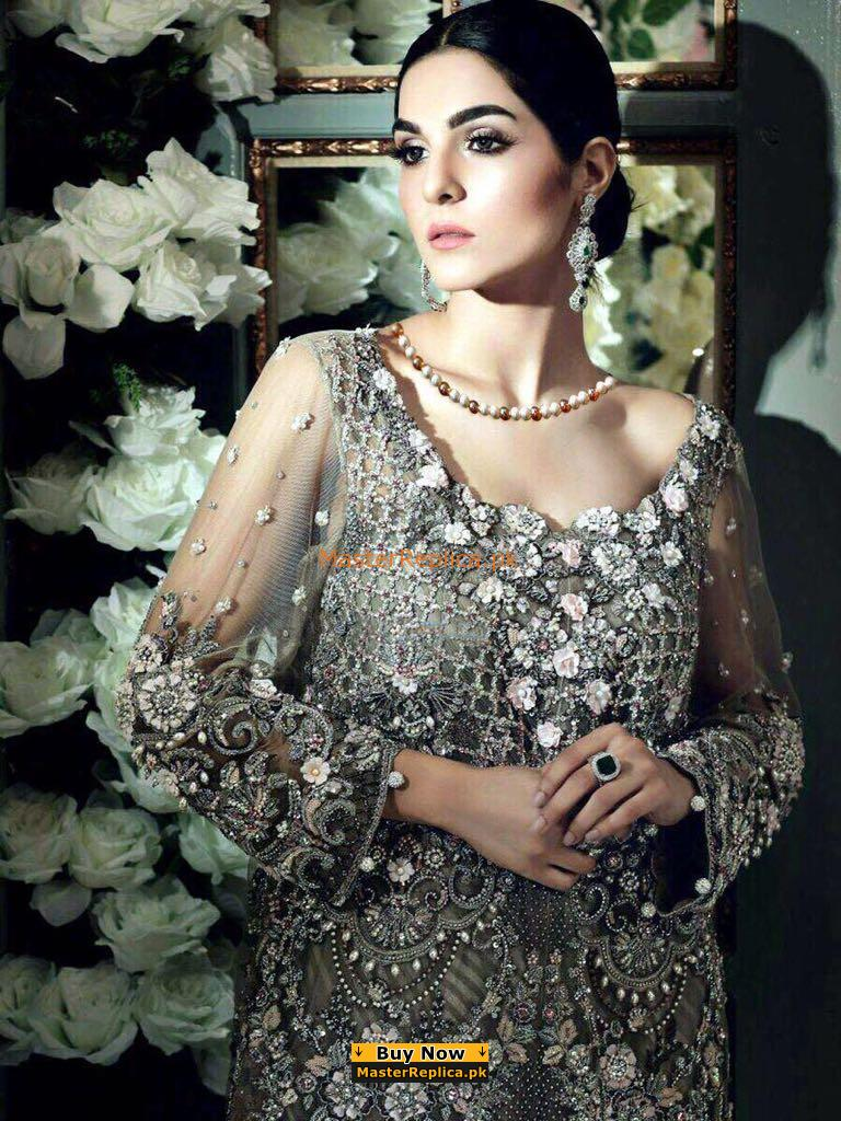 ZAINAB CHOTTANI Luxury Embroidered Lawn Collection Replica