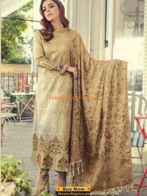MARIA B Luxury Embroidered Khaddar Collection Replica