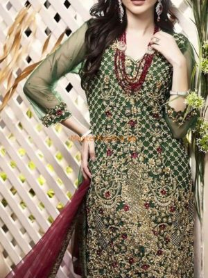 REHAN MUZAMMIL Luxury Net&Organza Collection Replica