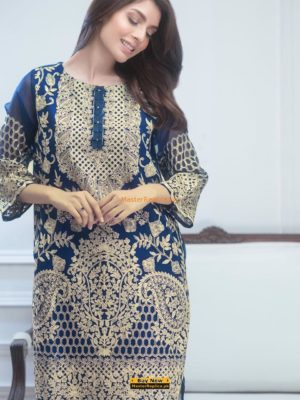 AGHA Noor Luxury Embroidered Latest Chiffon Collection Replica