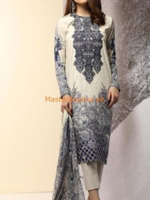 AL-KARAM Latest Embroidered Winter Linen Collection Replica