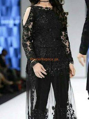 ANABIYA Luxury Embroidered Net Latest Collection Replica