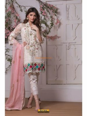 ANNUS ABRAR Latest Embroidered Net Collection Replica 2018