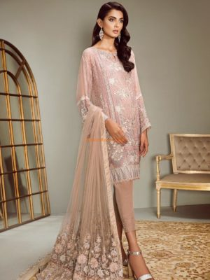 Baroque Luxury Embroidered PANACHE Chiffon Collection Replica