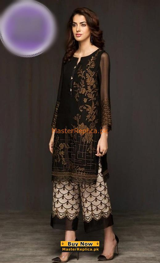 BAROQUE Luxury Embroidered Latest Cotton Collection Replica