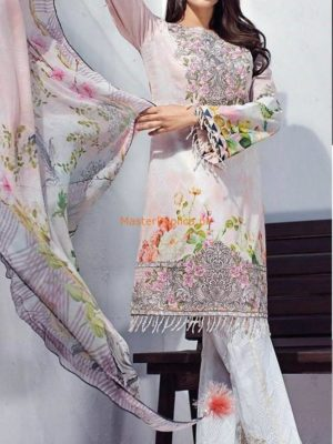 BAROQUE Luxury Embroidered Winter Khaddar Collection Replica