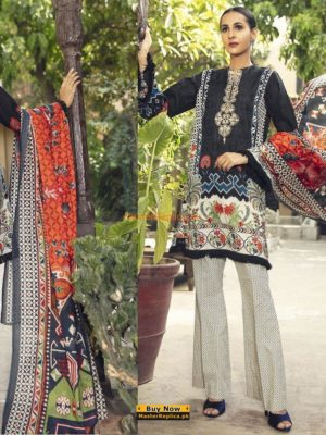 BAROQUE Latest Embroidered Winter Khaddar Collection Replica 2018