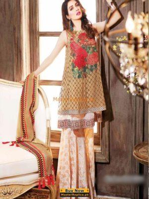 CHARIZMA Luxury Embroidered Chiffon Collection Replica