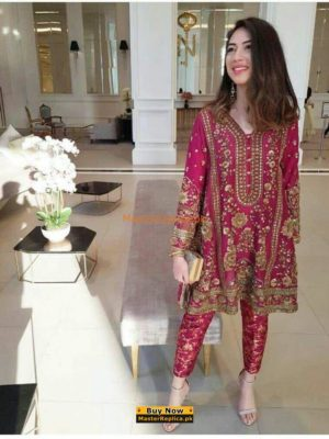 DESIGNER Luxury Embroidered Latest Chiffon Collection Replica