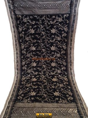 LUXURY EMBROIDERED WINTER VELVET SHAWL COLLECTION