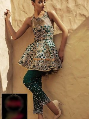 ERUM KHAN Latest Embroidered Chiffon Collection Replica 2018